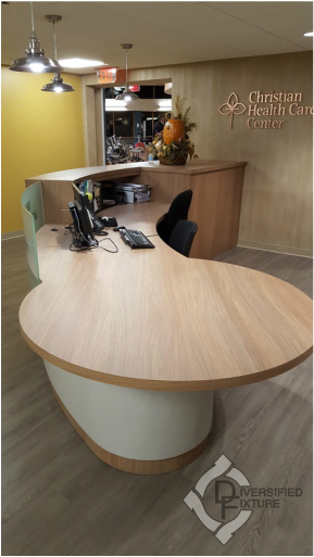 Radius Desk at Bolger Gym & Wellness Center