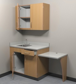 Pre-Assembled Exam Room Station